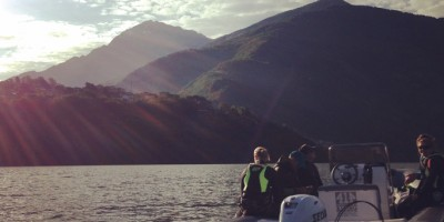 Sunrise Kiting Lake Como